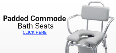 Padded Commode Bath Seats