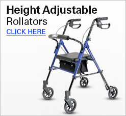 Height Adjustable Rollators