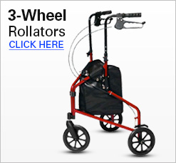 3-Wheel Rollators
