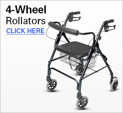 4-Wheel Rollators