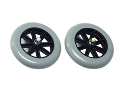 Walker Wheels lumex fixed walker wheels