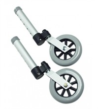 Walker Wheels lumex swivel walker wheels
