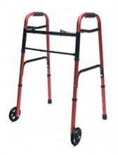 Folding Walkers lumex colorselect adult walker