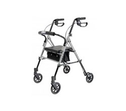 Height Adjustable Rollators lumex set n go wide height adjustable rollator